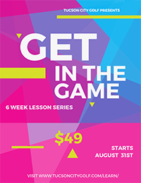 Flyer for Get in the Game